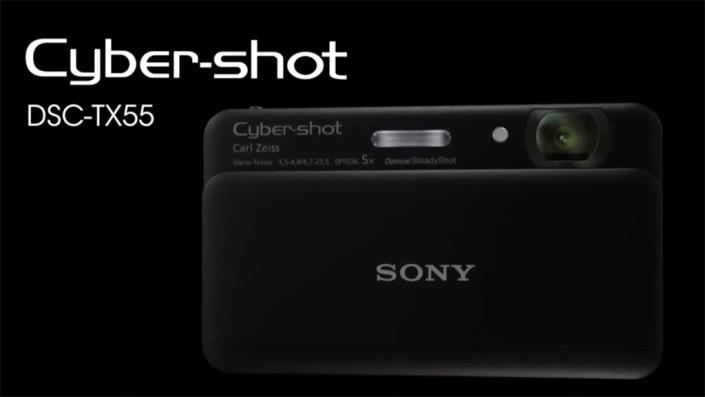 SONY: Cyber-shot DSC-TX55
